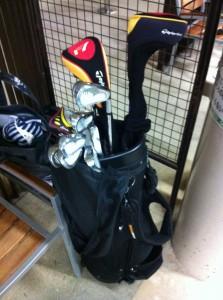 ゴルフセット_中古