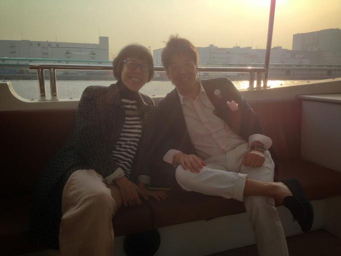 スタイリスト西ゆり子さんとツーショット