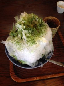 茶亭・葉山_かき氷_抹茶