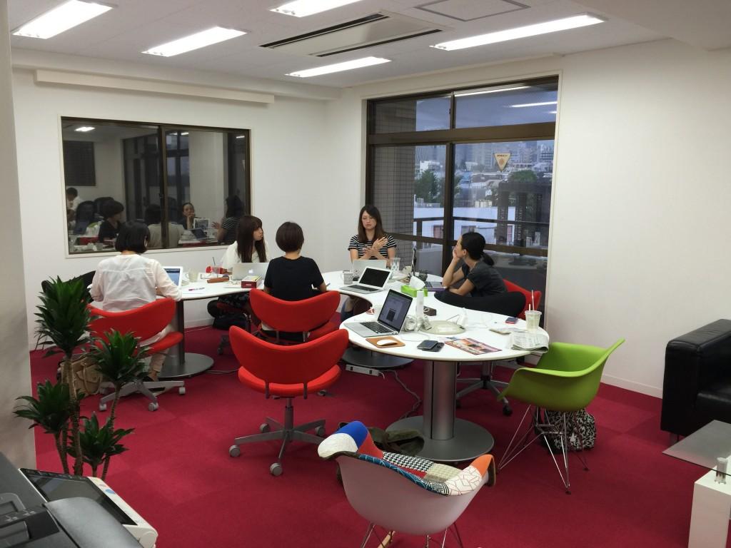 女子チームによるコンテンツ会議