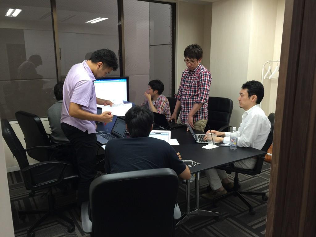エンジニア達の開発会議